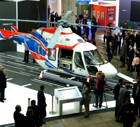 XIII INTERNATIONAL HELICOPTER INDUSTRY EXHIBITION HELIRUSSIA 2020